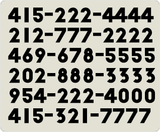 New Repeating Numbers